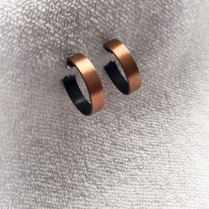 Jewelry - Cooper Colored Hoop Earrings